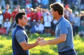 Pieters en McIlroy pakken punt voor Team Europe